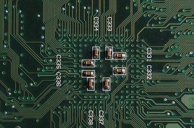 Silicon semiconductor PCB