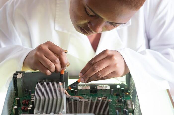 Semiconductor PCB failure