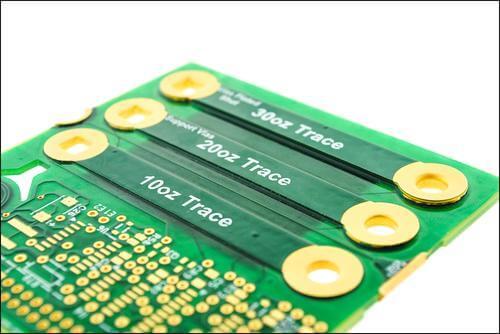 Copper in semiconductor PCB design