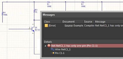 Altium Compiler Showing Error