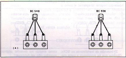 Changing types. BC548 and BC558 are different.