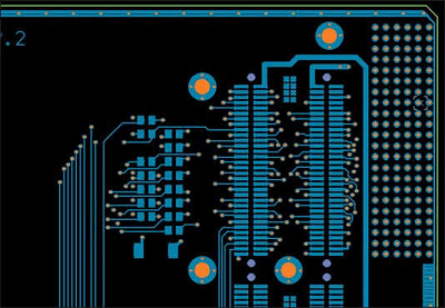 Printed circuit board without copper balance