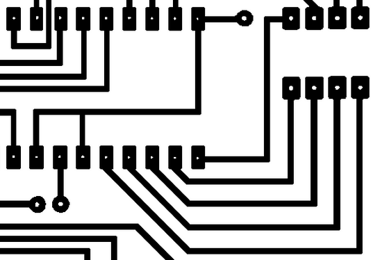 Typical Layout on Printed Circuit Boards with 2 layers