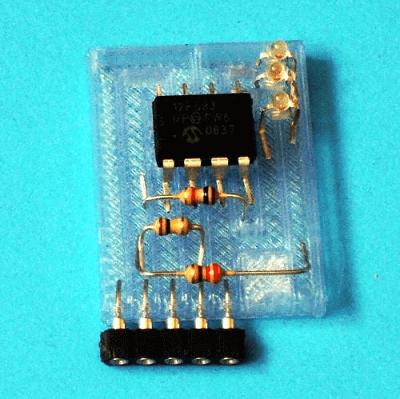 3D printed circuit board