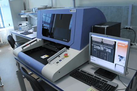 Installation of automatic optical inspection