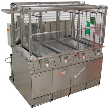 4-stage cleaning system