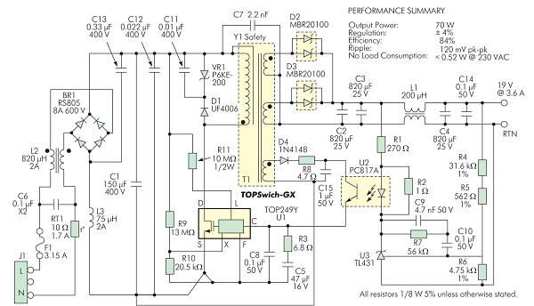 Power supply PCB design