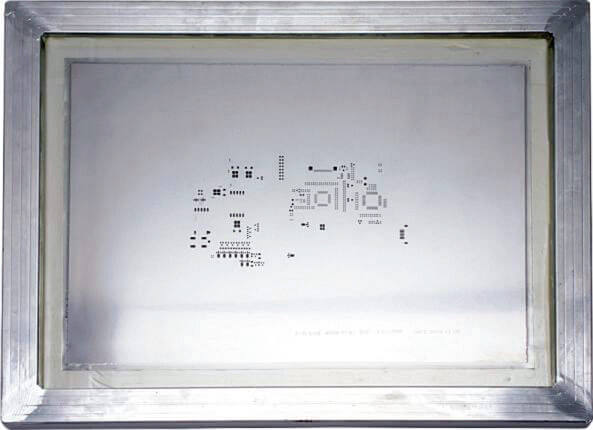 Stencil with Frame