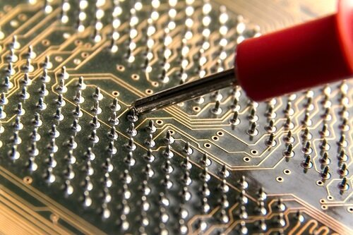 Two Waves of Solder