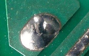 Soldering the Component Lead
