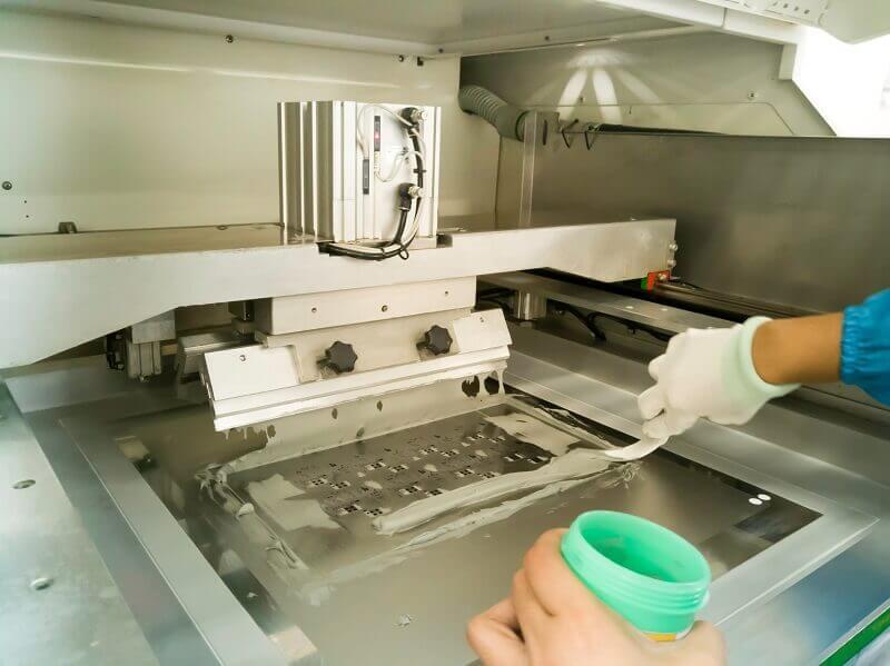 automatic stencil printer